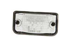 GENUINE Mercedes SL CLK 2003-2012 Rear License Plate Light Lens LEFT=RIGHT