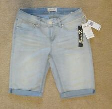 NWT womens 7 seven Jean Shorts light blue color, size 4