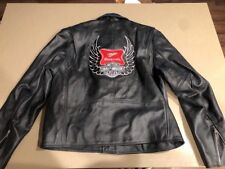 New With Tags Allstate Leather Harley Davidson Miller High Life Jacket Size 48