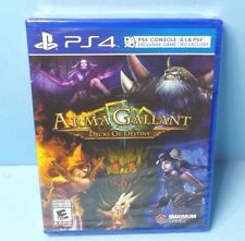 Arma Gallant Decks of Destiny (Playstation 4) PS4 BRAND NEW FACTORY SEALED