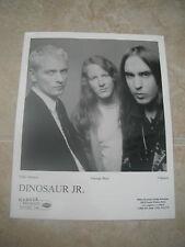 Dinosaur Jr. Johnson Berz Mascis B&W 8x10 Promo Photo Picture