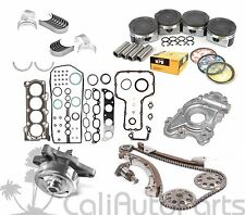 00-08 TOYOTA CELICA MATRIX 1.8L 1ZZFE DOHC MASTER ENGINE REBUILD KIT *GRAPHITE*