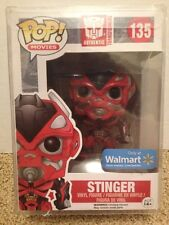 Funko Pop! Movies Transformers Stinger #135 Walmart Exclusive W/ Pop Protector