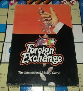 Classic - Foreign Exchange The International Money Game Avalon Hill 1972