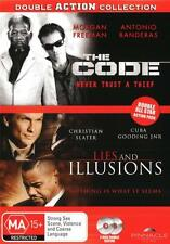 The Code / Lies and Illusions  - DVD - NEW Region 4