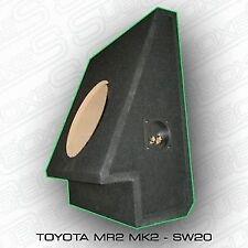"Toyota MR2 10"" Custom Built Alloggiamento Altoparlante Sub Woofer Dietro Seat mk2 SW20"
