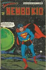 SUPERMAN E' NEMBO KID RACCOLTA n° 7 (Cenisio, 1979) Superman n° 29 Batman 30