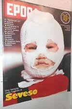EPOCA 12 gennaio 1977 Tragedia di Seveso Terrorismo Brescia Bertuzzi Fanfani di