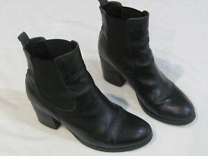 Tony Bianco Leather Boots - size 9
