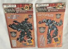 Scrapbook TRANSFORMERS Sticky-Do-Da Lot of 2 Stickers Sheets