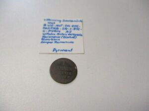 """Altdeutschland """"Pyrmont"""" Scheidemünze 1 Pfennig 1767"""