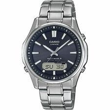 Casio reloj Hombre, radio/solar, analógico-digital, titanio, zafiro de vidrio, lcw-m100tse