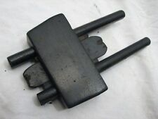 Antique Wedge Arm Ebony Wooden Marking Mortise Gauge Wood Tool Double Arm