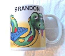 Ceramic Personalized Lego Coffee Mug 2000 (Brandon)