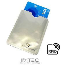 4x RFID Contactless Credit Card Blocking Secure Case Holder Sleeve Shield Cover