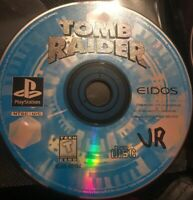Tomb Raider Playstation 1 Ps1 Game Disc 32A First One! Ps2 2 Lara Croft