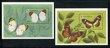 Gambia 1575-1576, MNH, Insects Butterflies,1994. x26128