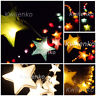 Battery / Plug 20,35 Star Mulberry Paper Fairy String Lights Party Wedding Gift