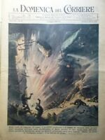 La Domenica del Corriere 3 Maggio 1942 WW2 Bombe Malta Pietroburgo Confucio Lana