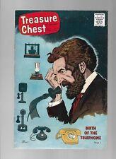 TREASURE CHEST OF FUN & FACT #10 - BIRTH OF THE TELEPHONE! - (6.0) 1967