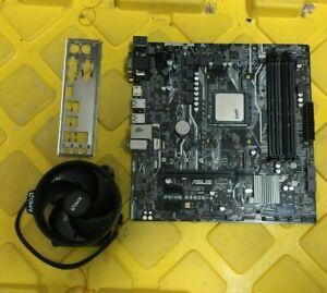 Combo  AMD Ryzen 5 2400G 4C 3.6Ghz + ASUS B350M-A AM4 + IO-Shield/CPU Heatsink.