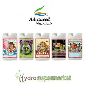 ADVANCED NUTRIENTS FULL RANGE BIG BUD, CANDY, OVERDRIVE, FLAWLESS, VOODOO REVIVE