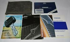 2001 VOLVO S80 / S60 OWNERS MANUAL GUIDE BOOK SET OEM