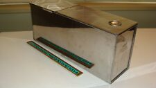 Vintage Stainless Steel Hoosier Cabinet Bread Box Storage Drawer Insert