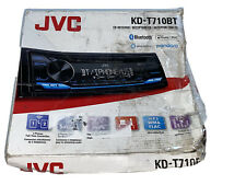 JVC KD-T710BT Bluetooth 1-DIN Car Stereo CD Receiver with USB Aux New