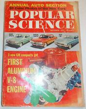 Popular Science Magazine First Aluminum V-8 Engine October 1960 121714R