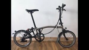 Brompton S6L Limited Edition Nickel 2016