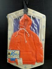"Vintage 1961 Ken Fashions Barbie's Boyfriend "" Hoodie "" Still in the Package!"