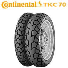 Continental TKC 70 110 80 R 19 + 150 70 R 17 Coppia Pneumatici Moto V-STROM 650
