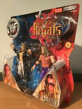 MOC WWF WWE Ringside Rivals Series 2 Edge Vs Christian Jakks Pacific 2002