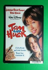 TOM AND HUCK THOMAS BRAD RENFRO COVER ART MINI POSTER BACKER CARD (NOT a movie)