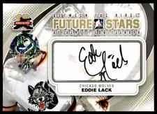 2011-12 FUTURE STARS EDDIE LACK AUTO CS CHICAGO WOLVES #A-EL
