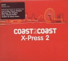 VARIOUS ARTISTS Coast 2 Coast : X-Press 2 DOUBLE CD ALBUM  NEW - STILL SEALED