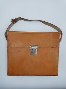 Vintage Unbranded Leather Case for Polaroid SX-70 - Case Only, No Camera!