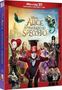Alice Attraverso Lo Specchio (Blu-Ray 3D+2D)