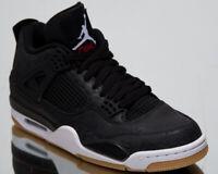 "Air Jordan 4 SE ""Laser Black Gum"" Men's New Black White Sneakers CI1184-001"