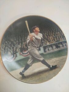 "Babe Ruth - ""Call the Shot"" Plate by Delphi #5982G"
