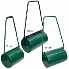 30L 38L & 46L | GARDEN LAWN METAL WET SAND FILLED MANUAL GRASS ROLLER AERATOR