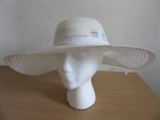 """Vintage Plaza Suite by Betmar for Neiman Marcus womens Fashion Hat w/ribbon 17"""""""