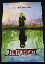 Lego Ninjago Movie Original Theater Movie Poster One Sheet DS 27x40