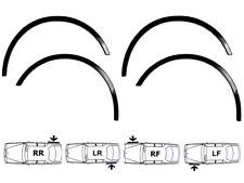 VW BORA Brand New Wing Wheel Arch Trim Front Rear Set 4 pcs. '98-06 BLACK MATT
