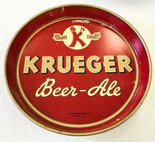 Krueger Beer-Ale Tray....Good Condition....Newark, New Jersey