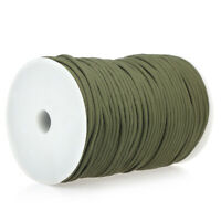 100M 550 Type Parachute Cord Paracord Lanyard Rope 9 Strand Cores Rescue O5N3