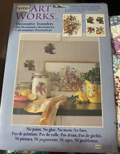New Springs Art Works Decorative Transfers Fruits & Vegetables Color # 76684