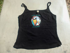 PIRATE girls/womans black sleeveless top size large ,Polly wants a cocktail