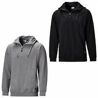 Dickies Elmwood Hoody Mens Hooded 1/4 Zip Work Sweatshirt Jumper SH11900